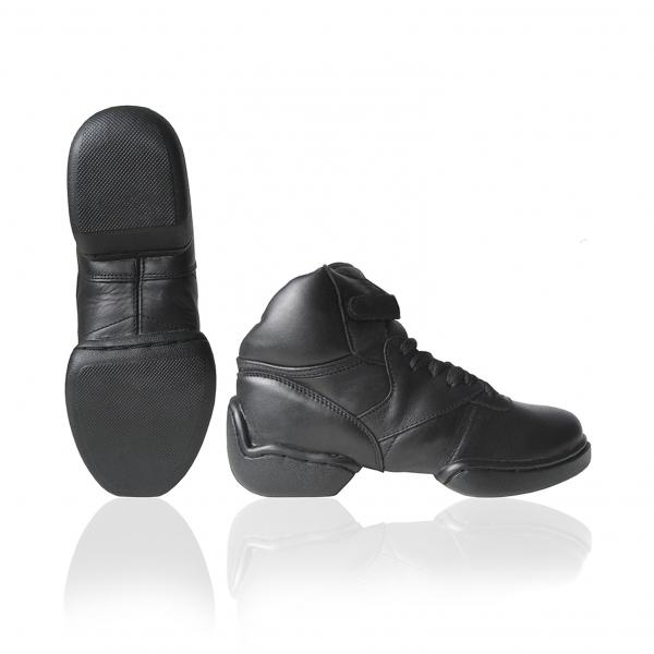 Sneaker leer split hoog-PA1500