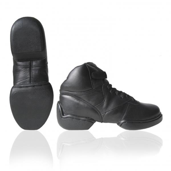 Sneaker leer split hoog-PK1500