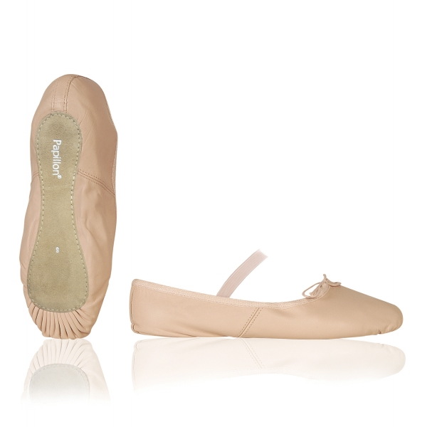 Balletsch. leer doorl - PK1000
