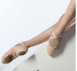 Leather balletshoes - WM406