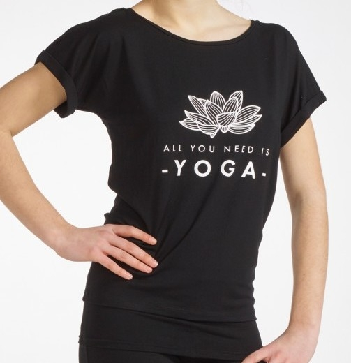 Yoga shirt Limpid Lotus