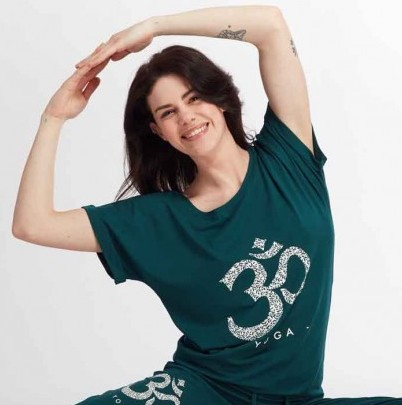 Yoga shirt Limpid OM